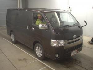 Toyota Hiace van 2015